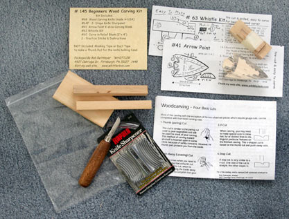 Beginning Woodcarving Kit