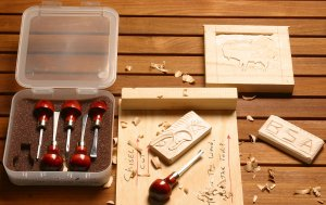 Photo of catalog #165 - chisel set